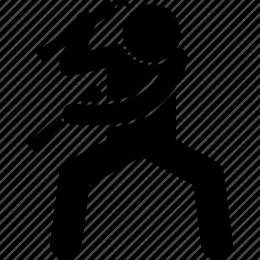 nunchaku, nunchucks, weapon icon