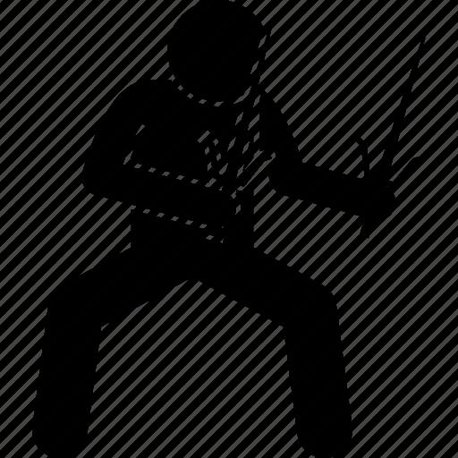 knife, martial arts, ninja, old, sai, traditional, weapon icon