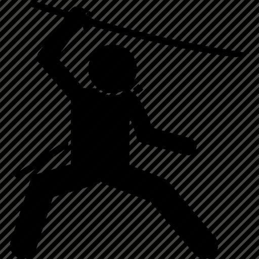 kungfu, martial arts, shaolin, sword, weapon, wushu icon
