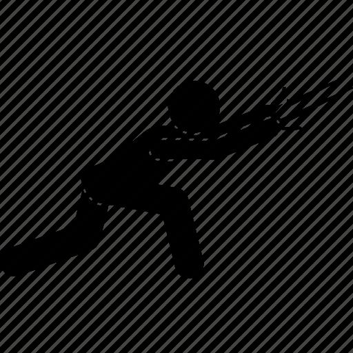 martial arts, sai, self defense, weapon icon