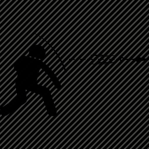 japanese, knife, kunai, throwing, weapon icon