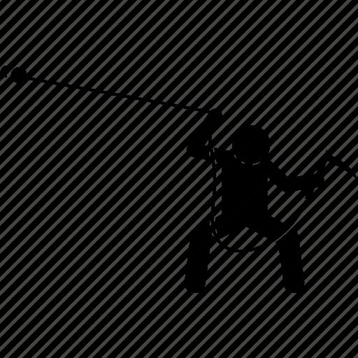 japanese, kusarigama, weapon icon