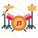 drum, instrument, music, musical icon