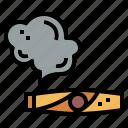 cigar, cultures, smoke, tobacco icon