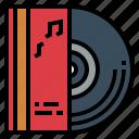 audio, music, musical, vinyl icon