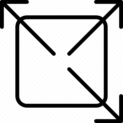 arrow, diagonal, direction, move, object, orientation, stretch icon