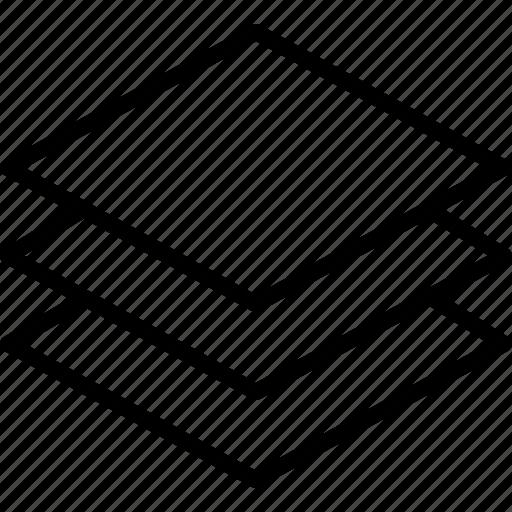 arrange, data, layers, level, multiple, sheet, stack icon