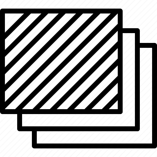arrange, data, foreground, layer, level, sheet, stack icon
