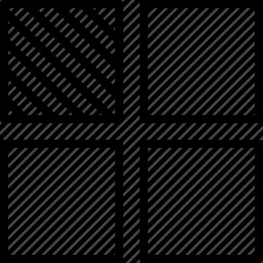arrange, data, layer, level, sheet, stack icon