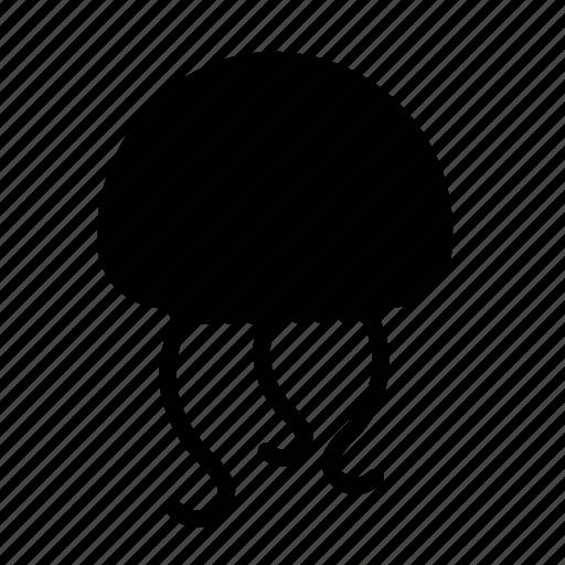 emoji, happy, jellyfish, sea creature icon