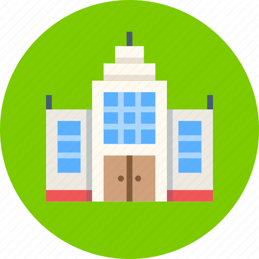 building, government, official icon