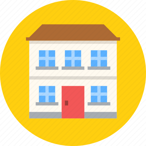 apartment, building, home icon