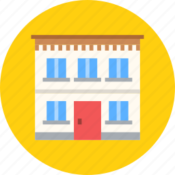 apartment, building, home, house icon