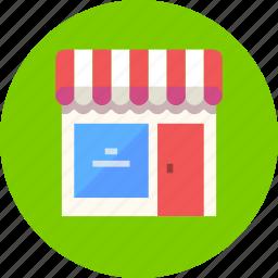 barbershop, building, restaurant, saloon, shop, store icon