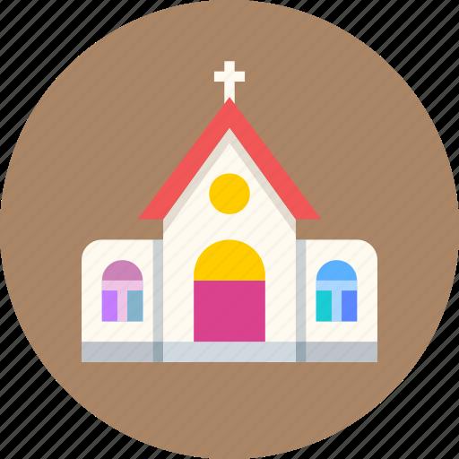 building, catholic, church, holy, religion icon
