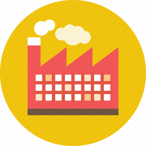 factory, global warming, industrial, industry, manufacturer, refinery icon