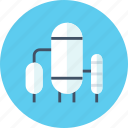 industry, silo, storage icon