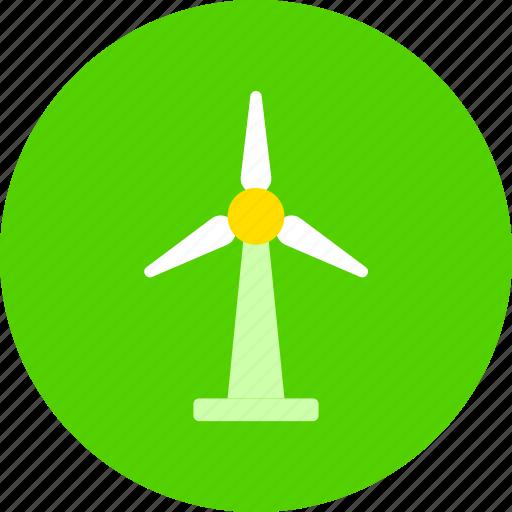 ecology, generator, wind icon
