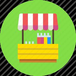 fair, lemonade, shop icon