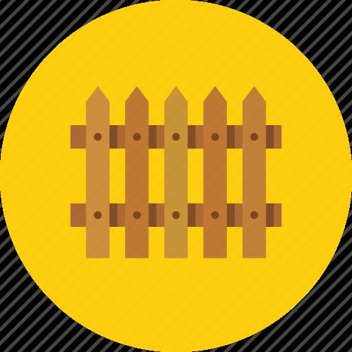fence, hedge, palisade, wood icon