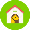 dog, doghouse, guard icon