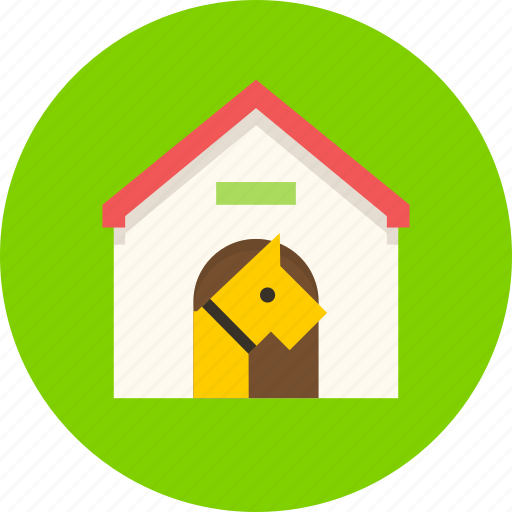 dog, doghouse, friend, guard, house, kennel icon