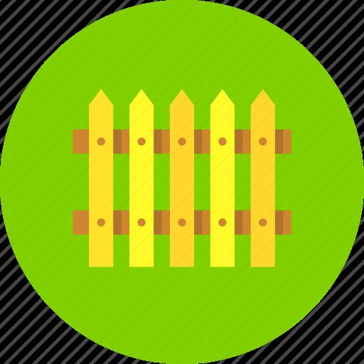 fence, hedge, palisade icon