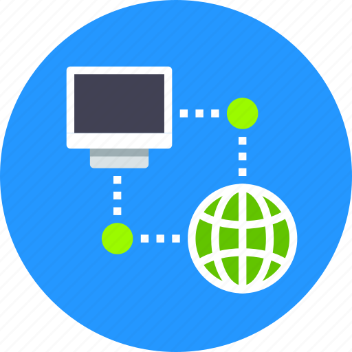 connect, connection, internet, network, ping, server, web icon