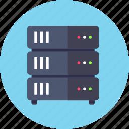 backup, base, data, database, mainframe, rack, server icon