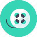 film, roll, tape icon