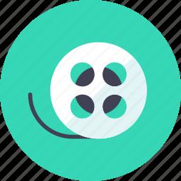 camera, cinema, film, roll, tape, video icon