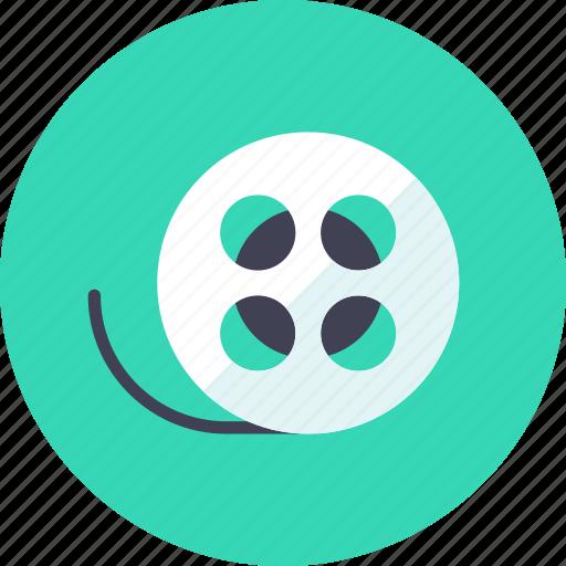 film, roll, tape icon