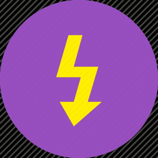 camera, electric, flash icon