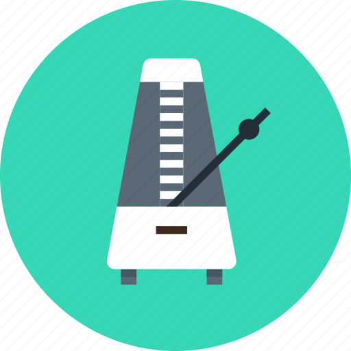 audio, instrument, metronome, music, sound icon