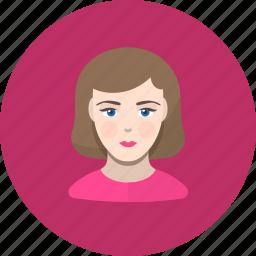 avatar, girl, human, icojam, user, woman icon