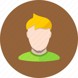 avatar, man, person icon
