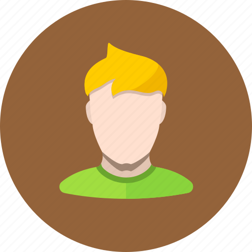avatar, face, guy, human, man, user icon
