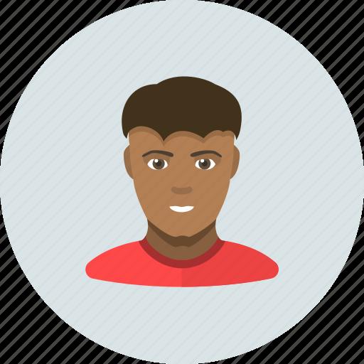 african, man, negro icon