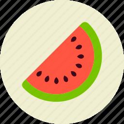 berry, food, fruit, slice, watermelon icon