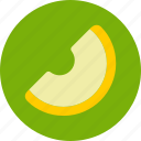 food, melon, slice icon