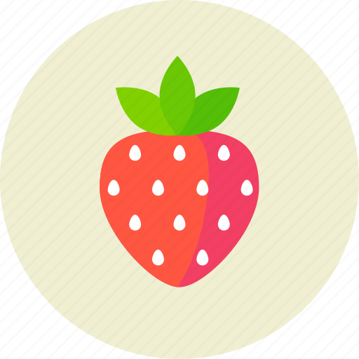berry, food, strawberry icon