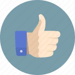 agree, like, right, thumbs up, vote, yes icon