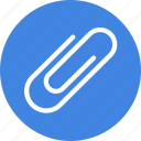 attach, attachment, clip, paper icon