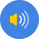 high, small, sound, volume icon