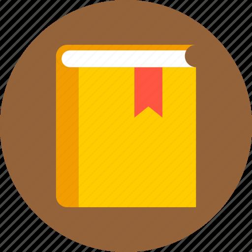 book, bookmark, library, read icon