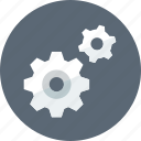 controls, gears, options icon