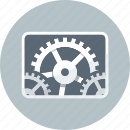 configuration, controls, gears, options, preferences, set, settings icon