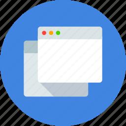 app, application, cascade, mac, window icon