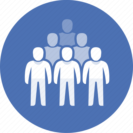 collective, company, crowd, group, masses, people icon