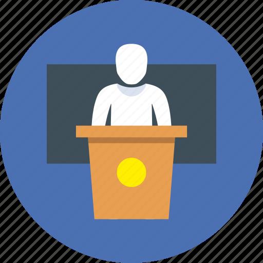 College, speech, university icon - Download on Iconfinder